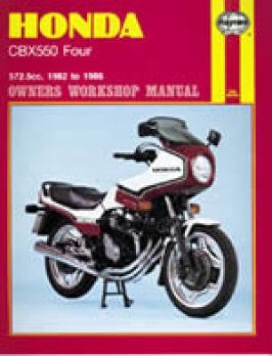 Honda CBX550 Fours Haynes Repair Manual for 1982 thru 1986