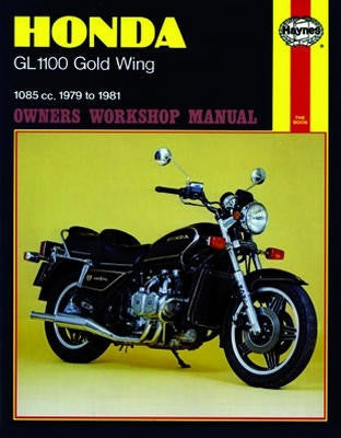 Honda1100 Gold Wing Haynes Repair Manual covering 1085cc models for 1979