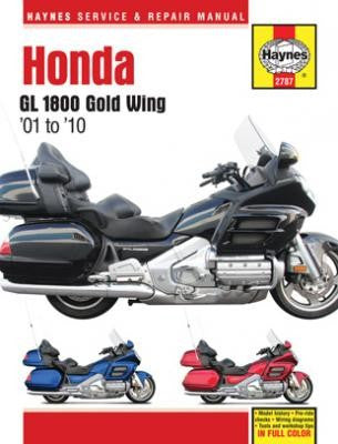 01-10 Honda GL1800 Gold Wing Haynes Repair Manual
