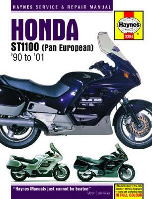 Honda ST1100 Pan European Haynes Repair Manual