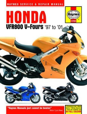 Honda VFR800 V-Fours Haynes Repair Manual
