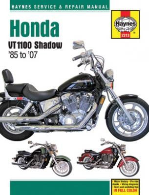 Honda Shadow VT1100 Haynes Repair Manual