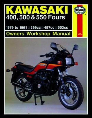 Kawasaki KZ550 Fours (1980-1984) and ZX550 Fours (1984-1985)Haynes Repair Manual