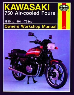 Kawasaki 750 Air-cooled Fours Haynes Repair Manual Covering 738cc models for 1980 to 1985