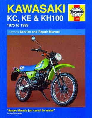 Kawasaki KE100A (1975-1981) and KE100B (1981-1999) Haynes Repair Manual