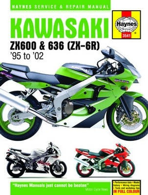 Kawasaki ZX-6R Haynes Repair Manual for 1995 to 2002