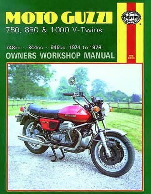 moto guzzi v7 700cc workshop service repair manual