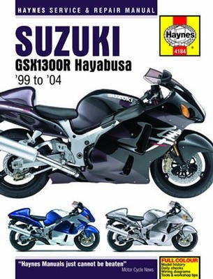 Suzuki GSX1300R Hayabusa Haynes Repair Manual for 1999 to 2004