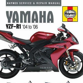 Yamaha Haynes Repair Manual covering YZF-R1 for 2004 thru 2006