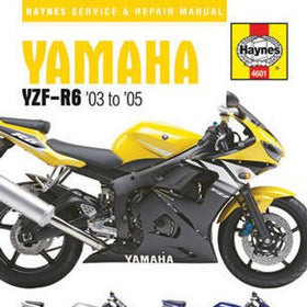 Yamaha YZF-R6 Haynes Repair Manual for 2003 to 2005