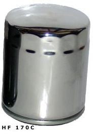 Hiflo HF170C Chrome  Replacement Spin On Oil Filter