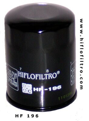 Hiflo HF196 Replacement Spin On Oil Filter