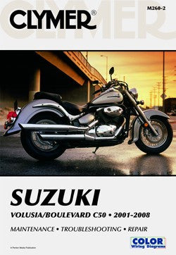 Clymer Manual Suzuki Volusia Boulevard C50 01-11 M260