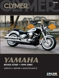 Clymer Manual Yamaha Road Star 99-07 M282