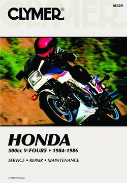 Clymer Manual Honda 500cc V-Fours 84-86 M329