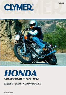 Clymer Manual Honda CB650, CB650SC and CB650C M336