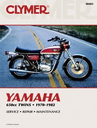 Clymer Manual Yamaha XS650 Twins 70-82 M403