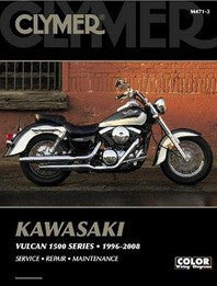 Clymer Manual Kawasaki Vulcan 1500 Series 96-08 M471