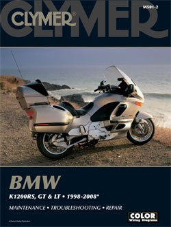 Clymer Manual BMW K1200RS, K1200GT and K1200LT 98-10 M501