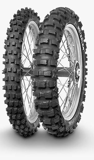 Metzeler MC6 Medium Hard/Rocky Terrain 80/100-21-Front