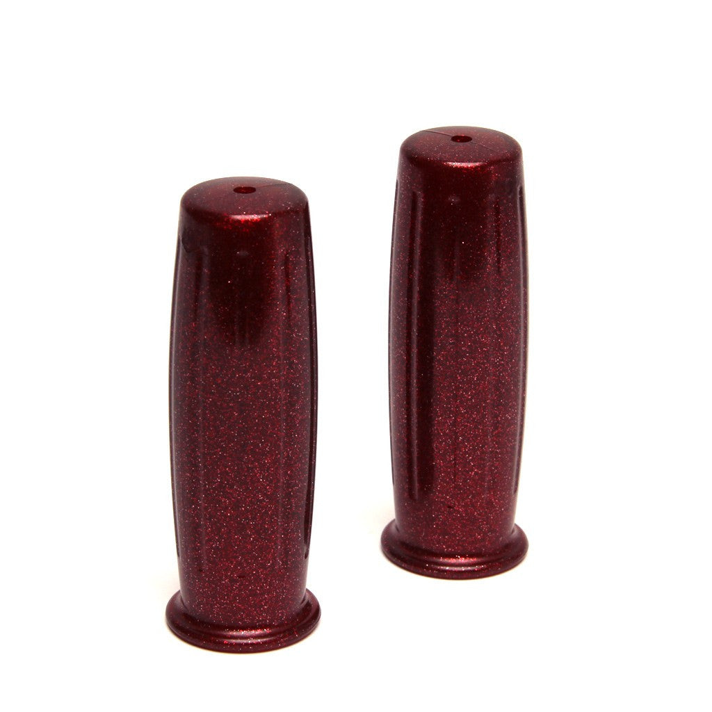 "Posh Red Flake 1"" Handlebar Grips"