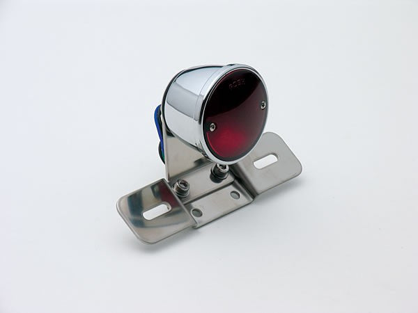 Posh Vintage Round Tail Light Chrome