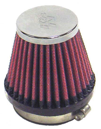 K&N Air Filter  UNIVERSAL Chrome RC-2340