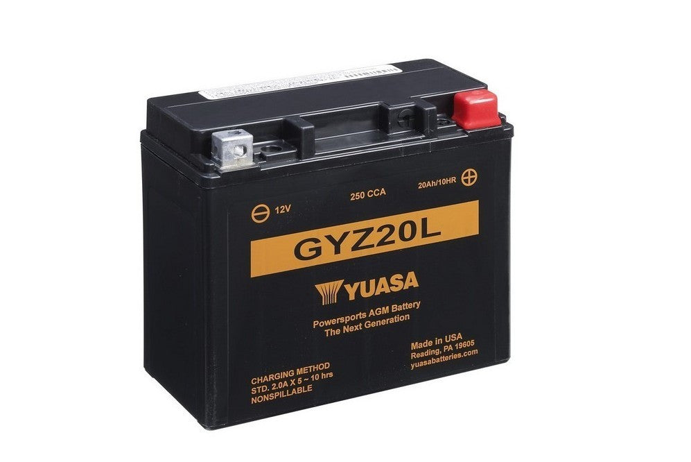 Yuasa GYZ20L Factory Activated Battery