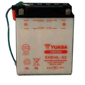 Yuasa SYB14L-A2 Battery With Sensor