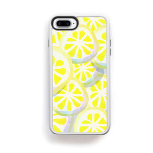 Lemon yellow fruit slices for iPhone 7 Plus - lemonandmelonstore