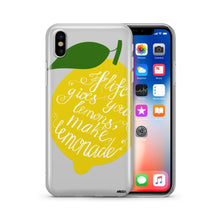 Load image into Gallery viewer, Lemonade - Clear TPU Case Cover - lemonandmelonstore