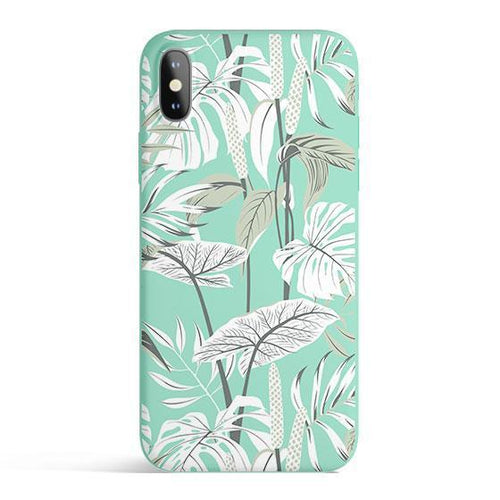 Tropical Mint - Colored Candy Cases Matte TPU - lemonandmelonstore