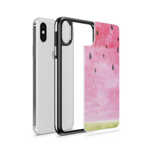 Watermelon Case - Slate iPhone Case - lemonandmelonstore