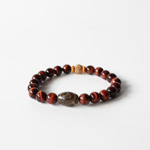 Natural Red Tiger Eye Stone - lemonandmelonstore