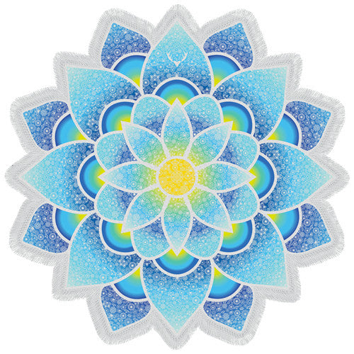 Lotus Yoga Mat - lemonandmelonstore