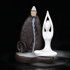 Meditating Incense burner - lemonandmelonstore