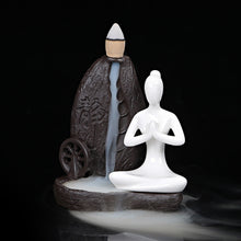 Load image into Gallery viewer, Meditating Incense burner - lemonandmelonstore