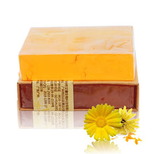 Load image into Gallery viewer, Natural Essential Oil Calendula Soap - lemonandmelonstore