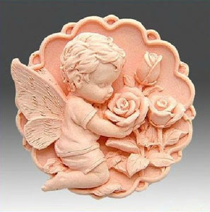 Baby Angel Soap mold - lemonandmelonstore