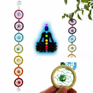 7 Chakras Dream Catcher - lemonandmelonstore