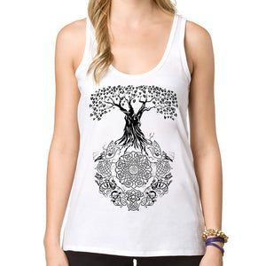 Tree of Life Tank top - lemonandmelonstore