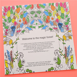 Enchanted Forest Coloring Book - lemonandmelonstore