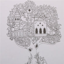 Load image into Gallery viewer, Enchanted Forest Coloring Book - lemonandmelonstore