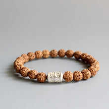Load image into Gallery viewer, Rudraksha & White Mantra - lemonandmelonstore