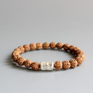 Rudraksha & White Mantra - lemonandmelonstore