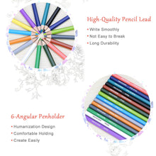 Load image into Gallery viewer, 50 Watercolor Colored Pencils Set - lemonandmelonstore