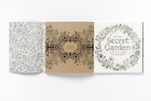 Load image into Gallery viewer, Secret Garden & Enchanted Forest Coloring Books With 24 Colored Pencils Bundle Set - lemonandmelonstore