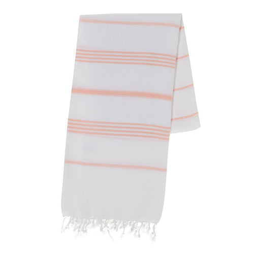 Classic Melon Stripe Turkish Towel - lemonandmelonstore