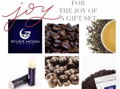 GIFT SET / / COFFEE, TEA, LIP BALM & CHOCOLATES