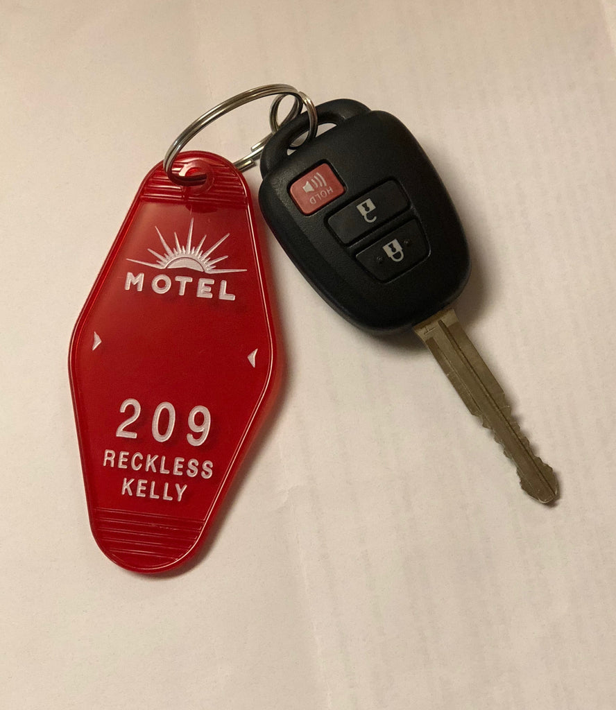 Sunset Motel Key Chain